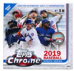 2019 BASEBALL -  TOPPS CHROME MEGA BOX (P4/B7)