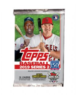 2019 BASEBALL -  TOPPS SERIES 2 *RETAIL* (P16/B24)