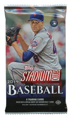 2019 BASEBALL -  TOPPS STADIUM CLUB (P8/B16)