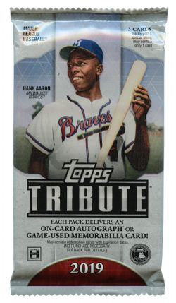 2019 BASEBALL -  TOPPS TRIBUTE (P3/B6)