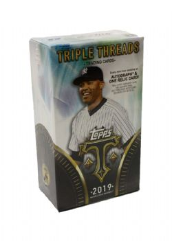 2019 BASEBALL -  TOPPS TRIPLE THREADS (MB7/B2)