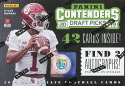 2019 FOOTBALL -  PANINI CONTENDERS DRAFT PICKS BLASTER (B42)