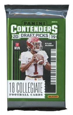 2019 FOOTBALL -  PANINI CONTENDERS DRAFT PICKS (P18/B6)