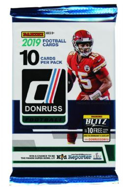 2019 FOOTBALL -  PANINI DONRUSS (P10/B18)