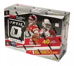 2019 FOOTBALL -  PANINI OPTIC MEGA BOX (P40) -  FOOTBALL CARDS
