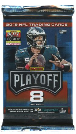 2019 FOOTBALL -  PANINI PLAYOFF (P8/B12)