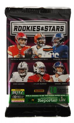 2019 FOOTBALL -  ROOKIES AND STARS (P10/B6)