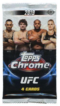 2019 UFC -  TOPPS CHROME (P4/B24)