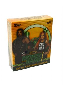 2019 WWE -  TOPPS MONEY IN THE BANK - MINI BOX (B12/C8)