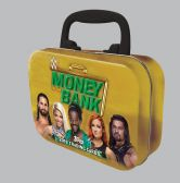 2019 WWE -  TOPPS MONEY IN THE BANK WRESTLING TIN BOX