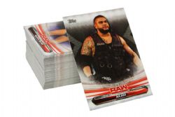 2019 WWE -  TOPPS RAW COMPLETE SET (90 CARDS)