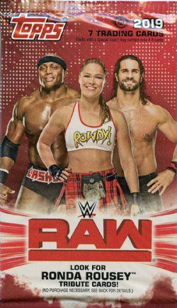 2019 WWE -  TOPPS RAW (P7/B24)