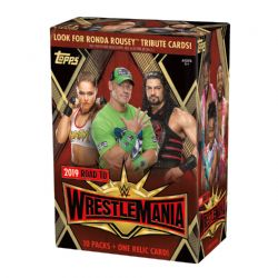 2019 WWE -  TOPPS ROAD TO WRESTLEMANIA VALUE BOX (71)