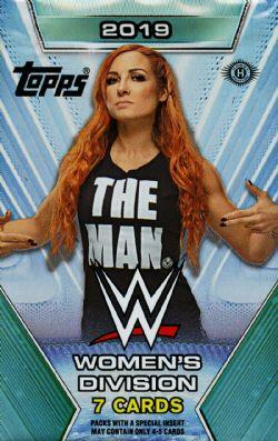 2019 WWE -  TOPPS WOMEN'S DIVISION (P7/B24)