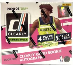 2020-21 BASKETBALL -  PANINI CLEARLY DONRUSS - HOBBY BOX