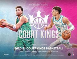 2020-21 BASKETBALL -  PANINI COURT KINGS - 7-PACK INTERNATIONAL BLASTER BOX