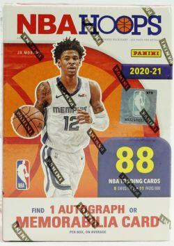 2020-21 BASKETBALL -  PANINI NBA HOOPS - 11-PACK BLASTER BOX