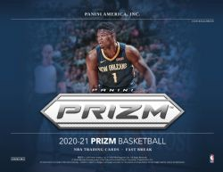 2020-21 BASKETBALL -  PANINI PRIZM FAST BREAK