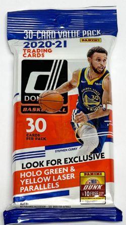 2020-21 BASKETBALL -  PANINI SCORE FOOTBALL FAT PACK (P40/B12)