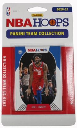 2020-21 BASKETBALL -  PANINI - TEAM SET NBA HOOPS -  76ERS DE PHILADELPHIE