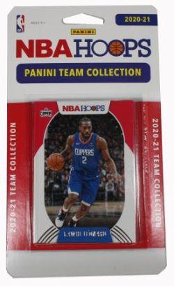 2020-21 BASKETBALL -  PANINI - TEAM SET NBA HOOPS -  CLIPPERS DE LOS ANGELES