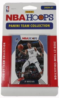 2020-21 BASKETBALL -  PANINI - TEAM SET NBA HOOPS -  GRIZZLIES DE MEMPHIS