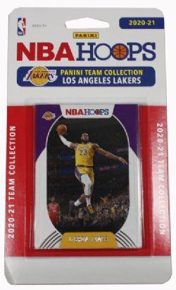 2020-21 BASKETBALL -  PANINI - TEAM SET NBA HOOPS -  LAKERS DE LOS ANGELES