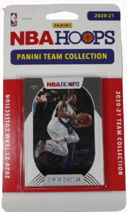2020-21 BASKETBALL -  PANINI - TEAM SET NBA HOOPS -  SPURS DE SAN ANTONIO