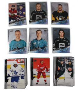 2020-21 HOCKEY -  UPPER DECK EXTENDED SERIES - COMPLET SET WITH RECRUITS (501-730)