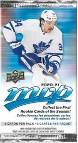 2020-21 HOCKEY -  UPPER DECK MVP RETAIL (P5/B36/C20)