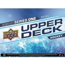 2020-21 HOCKEY -  UPPER DECK SERIES 1 FAT PACK ***1 BOX LIMIT PER CUSTOMER*** (P26/B18/C6)