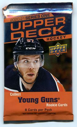 2020-21 HOCKEY -  UPPER DECK SERIES 1 HOBBY  (P8/B24/C12)