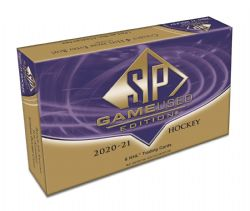 2020-21 HOCKEY -  UPPER DECK SP GAME USED - HOBBY BOX