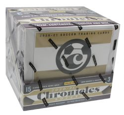 2020-21 SOCCER -  PANINI CHRONICLES SOCCER - HOBBY BOX