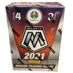 2020-21 SOCCER -  PANINI MOSAIC UEFA EURO 2020 - 8-PACK BLASTER BOX