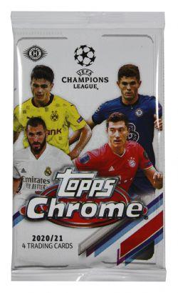 2020-21 SOCCER -  TOPPS CHROME UEFA CHAMPIONS LEAGUE (P4/B18/C12)