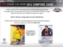 2020-21 SOCCER -  TOPPS UEFA STADIUM CLUB CHROME (P6/B18)