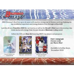 2020 BASEBALL -  BOWMAN BEST - MINI BOX (P5/B12)