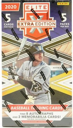 2020 BASEBALL -  PANINI ELITE EXTRA EDITION (P5/B5)