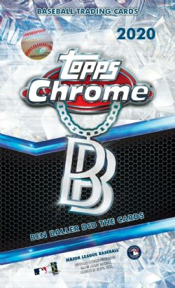 2020 BASEBALL -  TOPPS CHROME BEN BALLER EDITION - HOBBY BOX