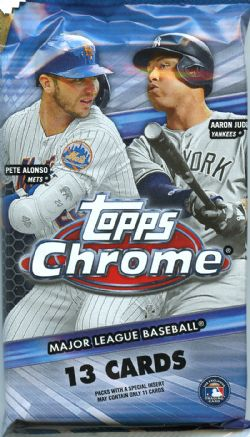 2020 BASEBALL -  TOPPS CHROME JUMBO (P13/B12/C8)