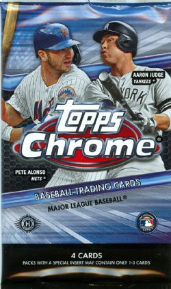 2020 BASEBALL -  TOPPS CHROME (P4/B24/C12)
