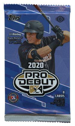 2020 BASEBALL -  TOPPS PRO DEBUT (P8/B24/C12)