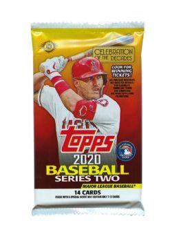 2020 BASEBALL -  TOPPS SERIES 2 (P14/B24/C8)