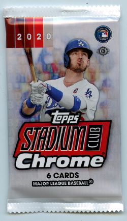 2020 BASEBALL -  TOPPS STADIUM CLUB CHROME (P7/B14/C16)