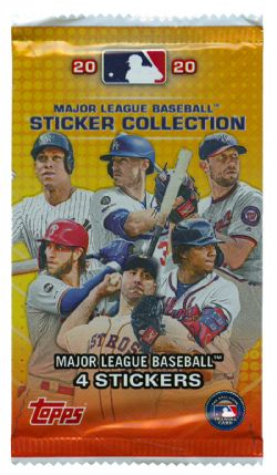 2020 BASEBALL -  TOPPS STICKER COLLECTION (P4/B50)
