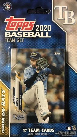 2020 BASEBALL -  TOPPS TEAM SET -  TAMPA BAY RAYS