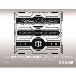 2020 FOOTBALL -  NATIONAL TREASURES - HOBBY BOX