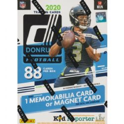 2020 FOOTBALL -  PANINI DONRUSS BLASTER (BLUE) (P8/B11)
