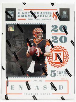 2020 FOOTBALL -  PANINI ENCASED - HOBBY BOX